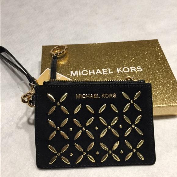 69e5b5387554 Michael Kors Bags | Nwt Small Coin Purse Leather | Poshmark